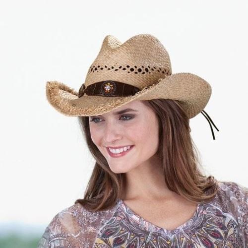 соломенная-ковбойская-шляпа