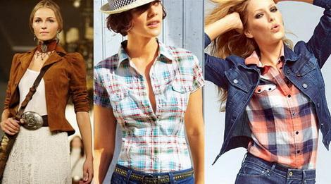 стиль кантри в женской одежде