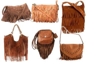 сумки кантри с бахромой