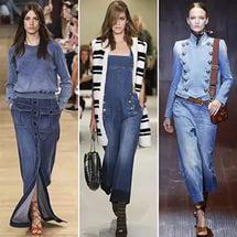 джинсовые платья и сарафаны