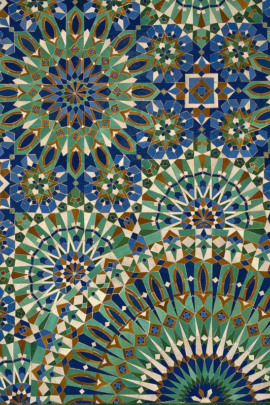 марокканские принты