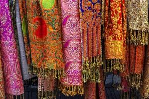 шелковые восточные платки