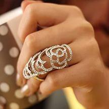 длинные кольца