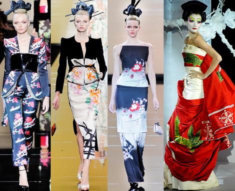 японский и китайский стиль в одежде