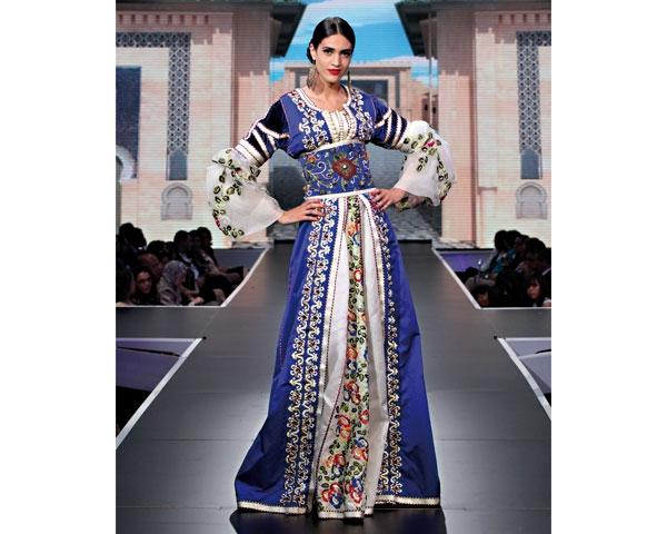 праздничная марокканская одежда
