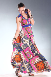 сарафан в индийском стиле