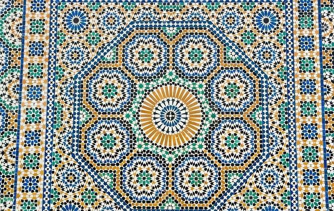 узоры на марокканских костюмах