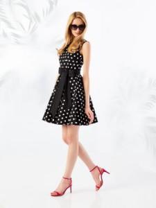 платье в горошек тренд лета 2016
