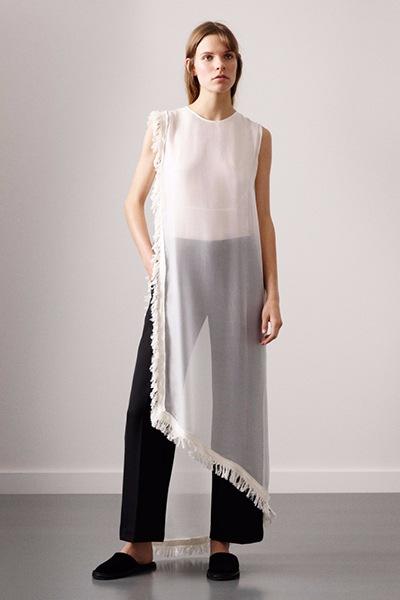 платье с широкими брюками