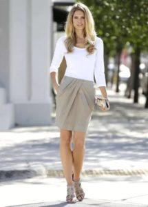какие юбки подходят фигуре с крупными бедрами