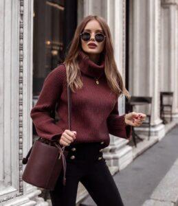 свитер для зимы