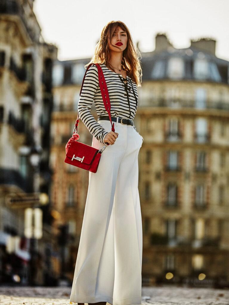 брюки французский стиль