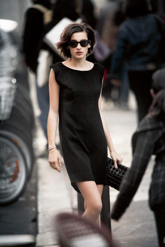 французский шик платья