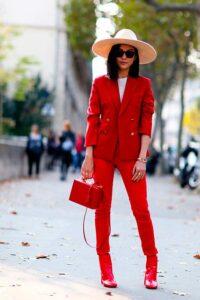 теплый красный для теплого цветотипа